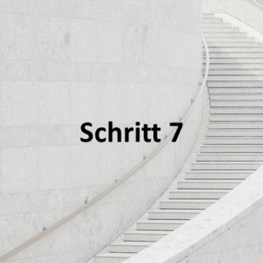 Schritt 7: Mandatsarbeit und Feedback